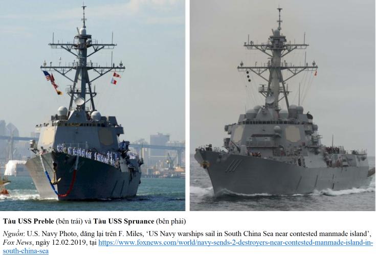 Tàu khu trục Mỹ