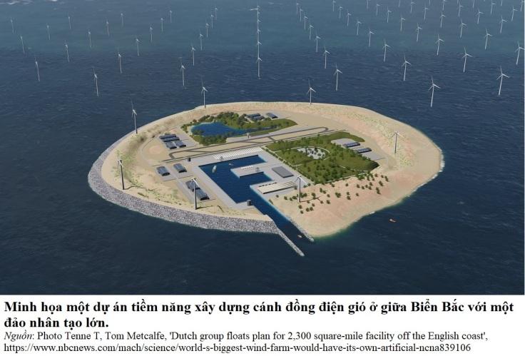 wind farm North sea