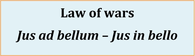 Law of wars