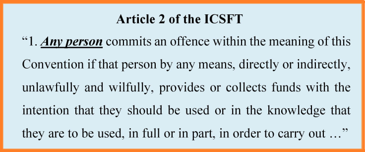 Art 2 ICSFT
