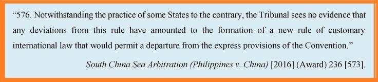 Custom baselines SCS Arbitration