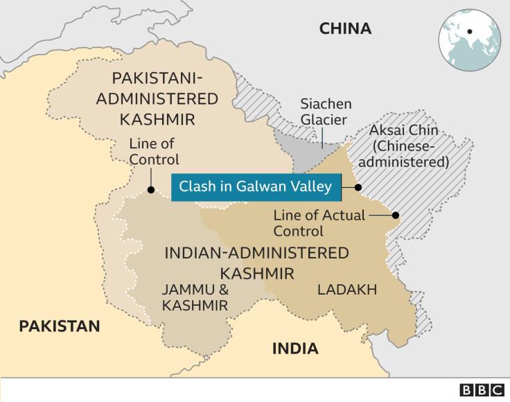 Ấn Độ TQ xung đột biên giới 2020